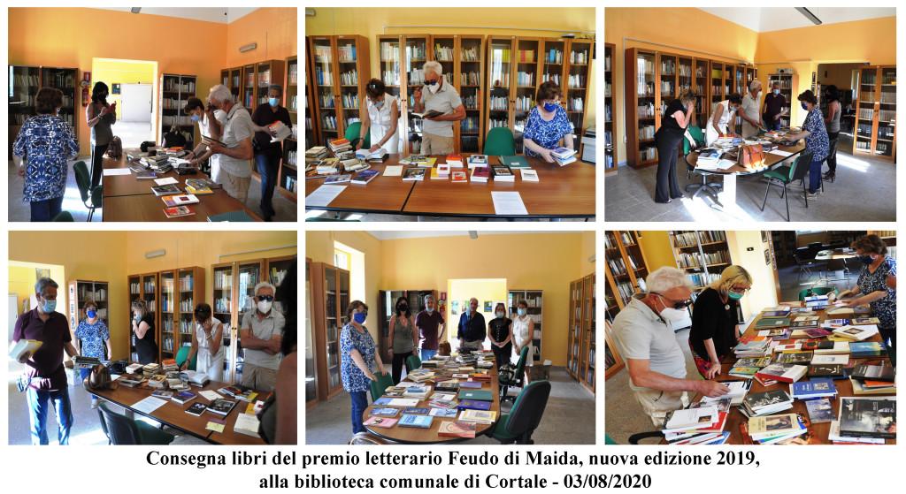 Consegna libri del Premio a Cortale