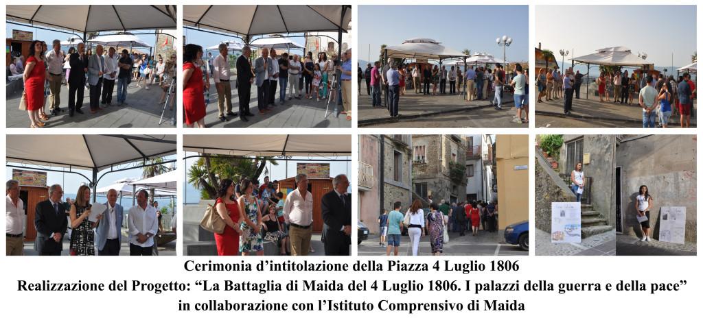 Intitolazione piazza 4 luglio 1806
