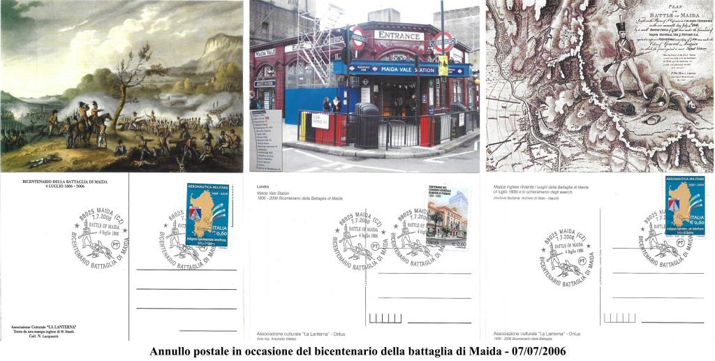 annullo postale - 2006