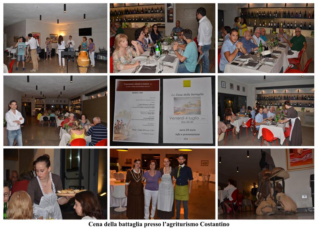 cena della battaglia 2014