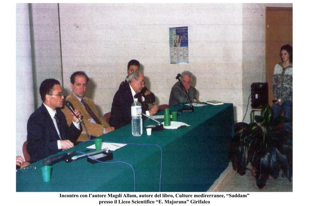 incontro autore Allam - 2003