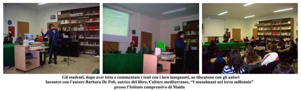 incontro autrice De Poli - 2007