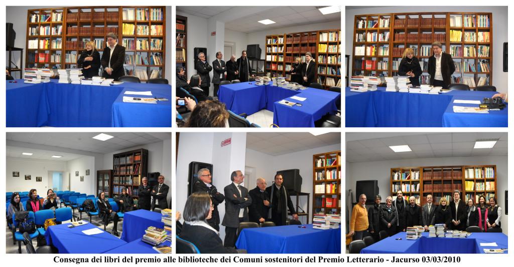 libri premio Jacurso - 2010