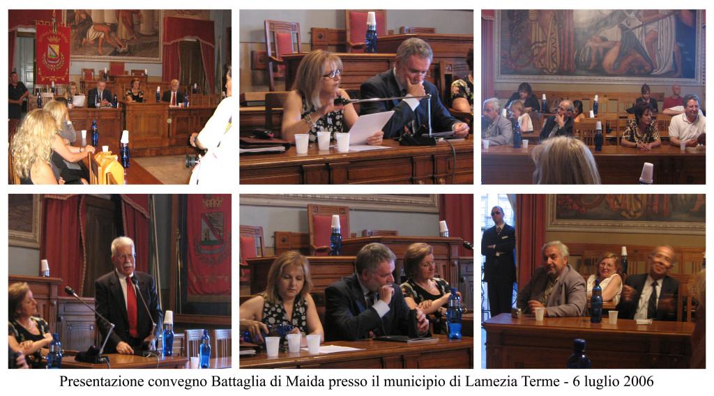 presentazione convegno batt. maida - 2006